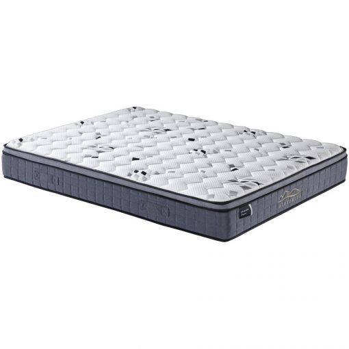 Orthoprati Supreme Pocket Spring Mattress with Latex & Memory Foam Pillow Top, Double