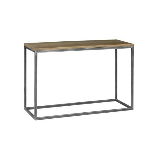 Byre Mango Wood & Metal Console Table