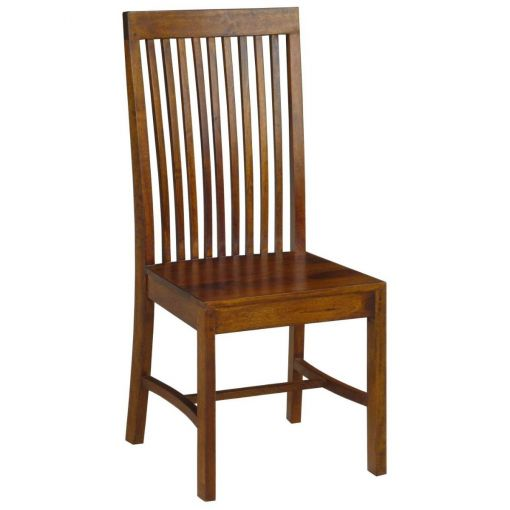 Lahom Mango Wood Dining Chair, Honey