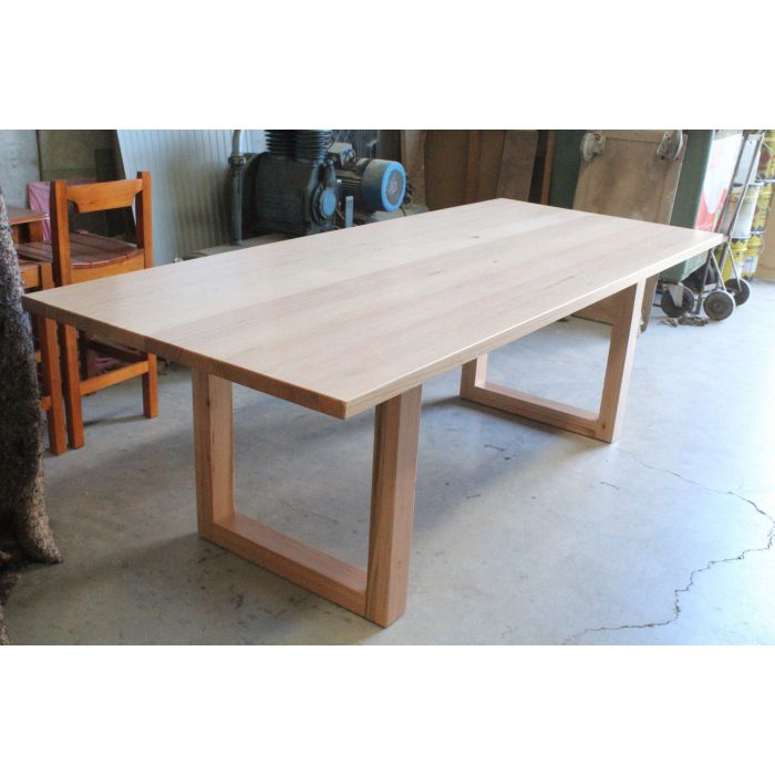 Nell 8 Seater Dining Table Solid Tassie Oak Hardwood Timber Locally Made